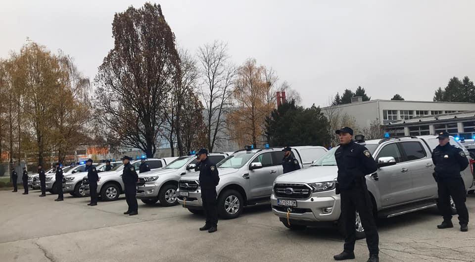 Policija za nadzor granice dobila mobilne termovizijske kamere