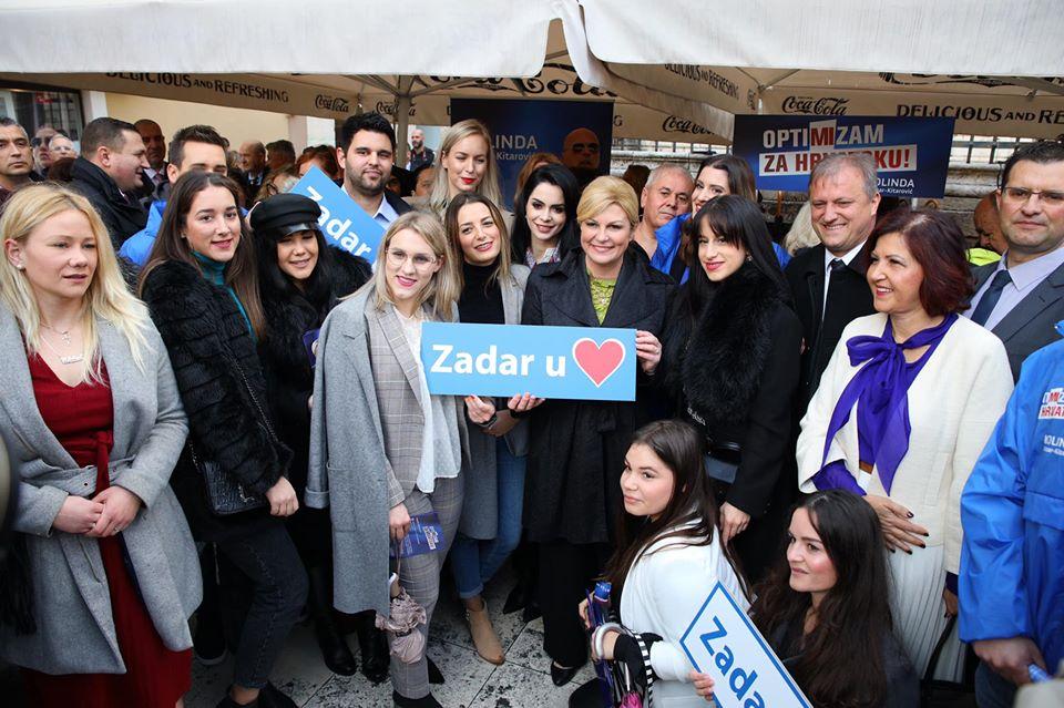 Kolinda Grabar-Kitarović već prikupila 10.000 potrebnih potpisa za kandidaturu