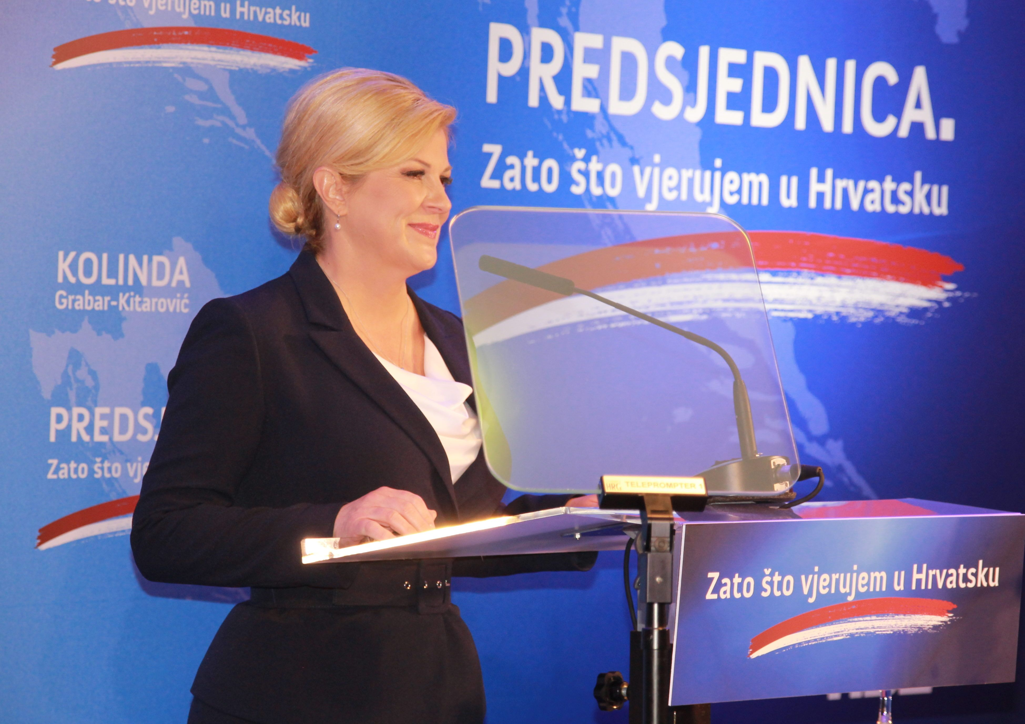 Predsjednica Grabar-Kitarović: Nisam imala dvojbi oko nove kandidature