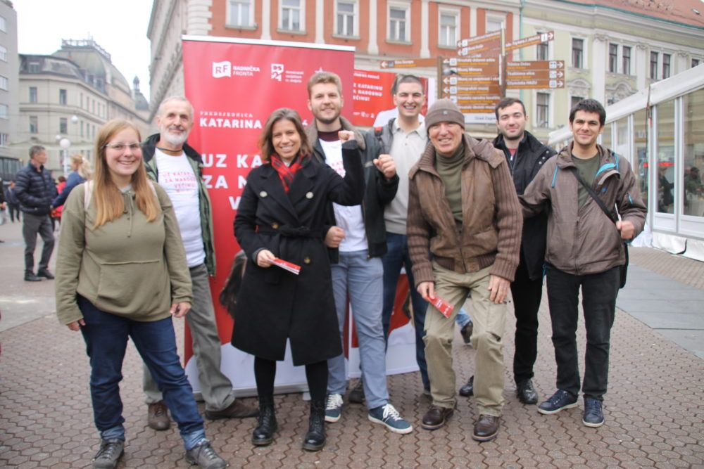 KANDIDATKINJA RADNIČKE FRONTE: Katarina Peović će se zalagati za demilitarizaciju i izlazak iz NATO-a