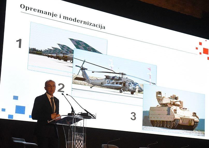 Krstičević: Promjene u sigurnosnom okruženju zahtijevaju stalnu prilagodbu Hrvatske vojske