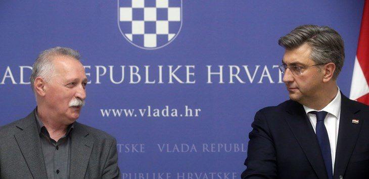 Mihalinec pohvalio Plenkovićevu odluku: Dobro kompromisno rješenje, štrajk se prekida i od sutra nastava