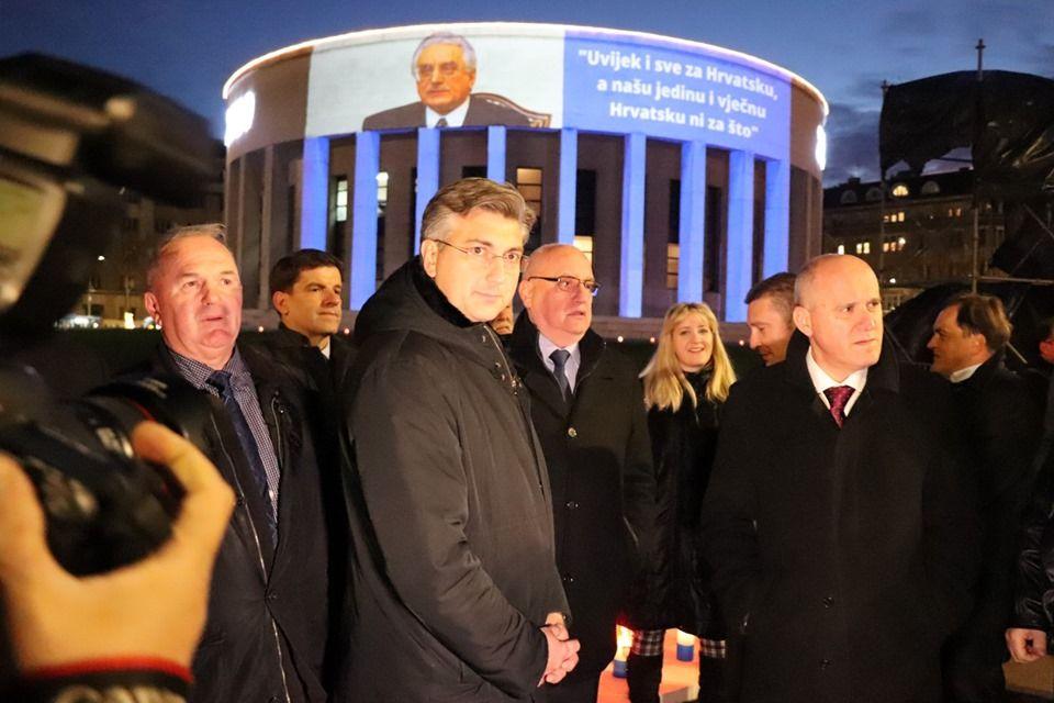 Plenković: Tuđman je imao projekt – slobodna, neovisna i samostalna Hrvatska