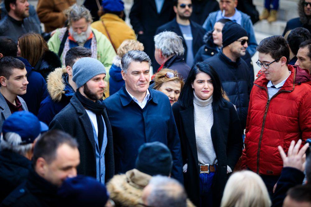 """Milanović: """"Geopolitika je vrlo važna jer trebaš znati gdje ti je društvo i birati dobro društvo, a HDZ i predsjednica biraju loše društvo"""""""