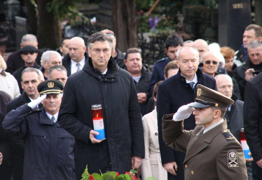 Plenković: Tuđman je ostavio neizbrisiv trag u povijesti hrvatskog naroda