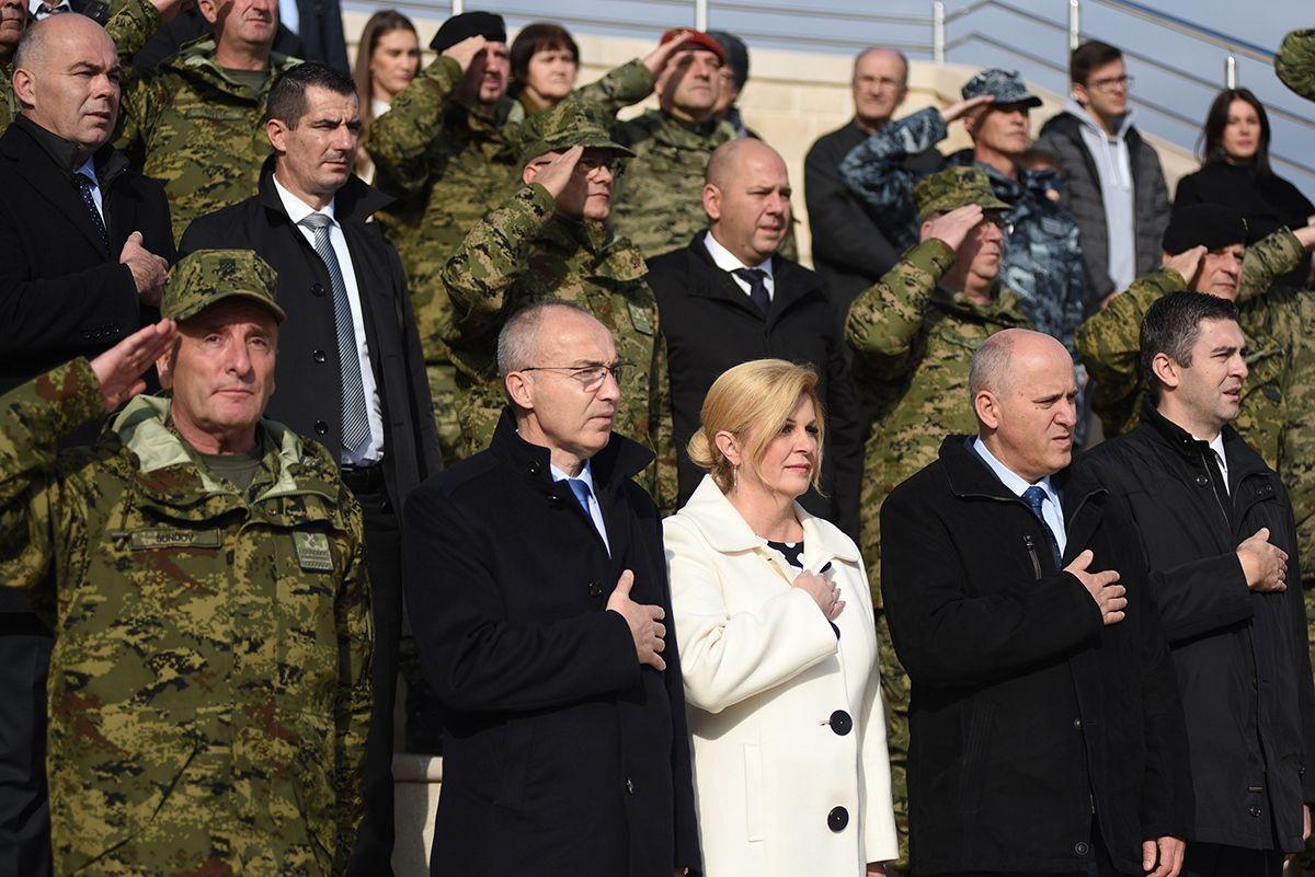 U DUBROVNIKU PRIJE 28 GODINA EPSKA BORBA HRVATSKIH BRANITELJA Krstičević: Hrvatska slavi mir i slobodu te gradi snažnu Hrvatsku vojsku