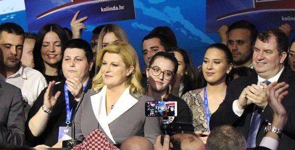 UPUTILA APEL: Grabar-Kitarović pozvala Škorine birače da glasaju za nju