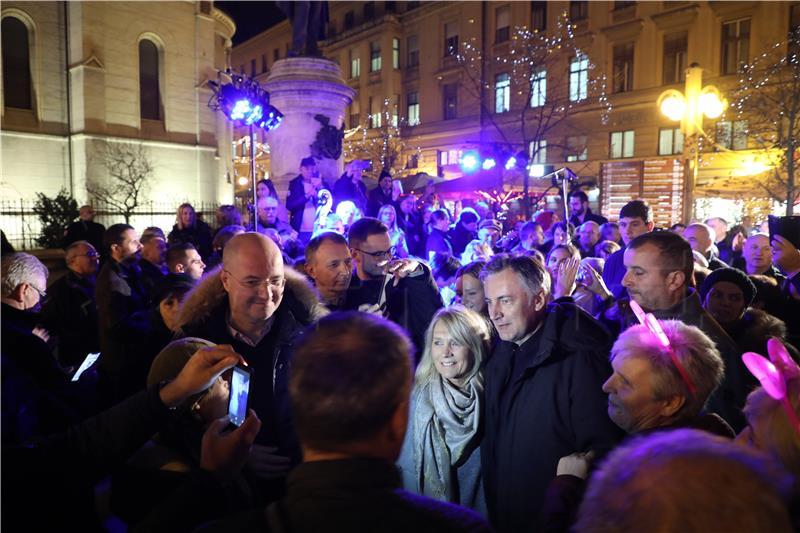 Kandidat za predsjednika RH Miroslav Škoro: U kampanji smo postigli puno više nego smo sanjali