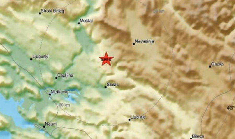 Novi jači potres u Hercegovini, osjetio se i u Dalmaciji
