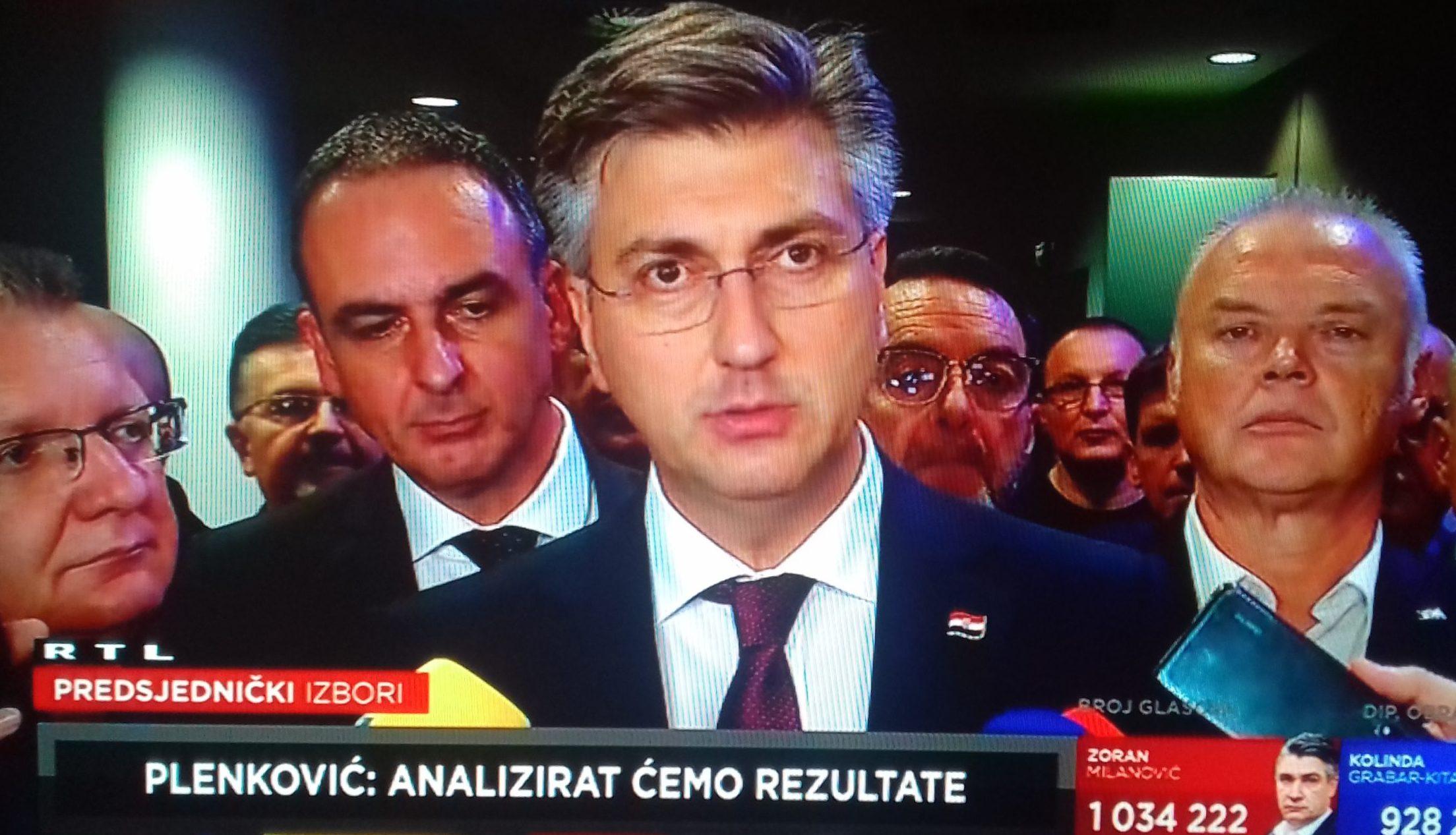"""Plenković: """"S Milanovićem imam dugu povijest odnosa. Očekujem tvrdu kohabitaciju u skladu s Ustavom RH i zakonom"""""""