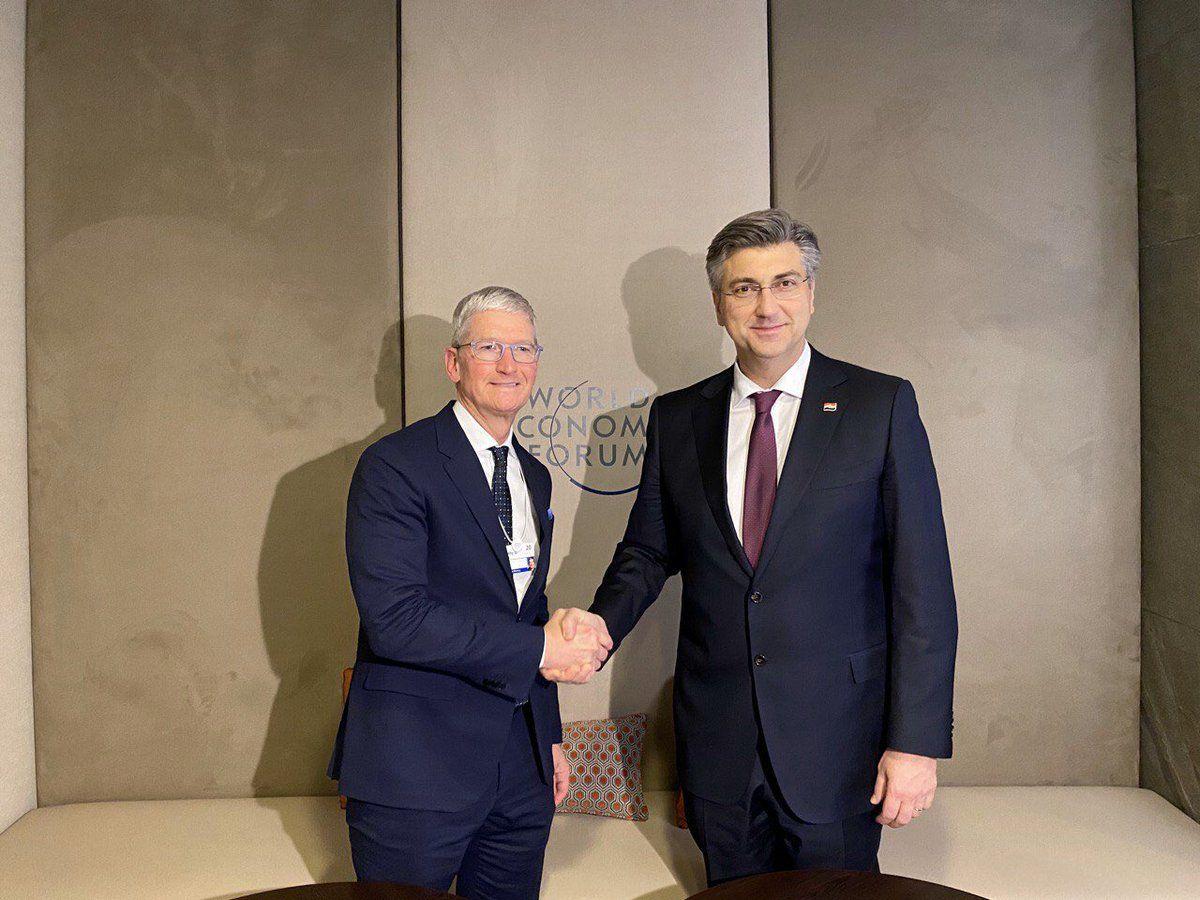 Plenković razgovore u Davosu smatra izuzetno korisnima za Hrvatsku