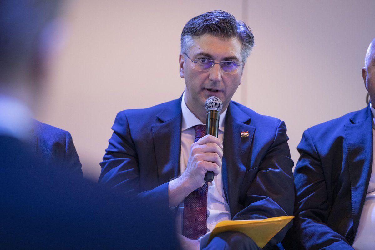 Plenković u Davosu: Tijekom predsjedanja fokus na jugoistoku Europe