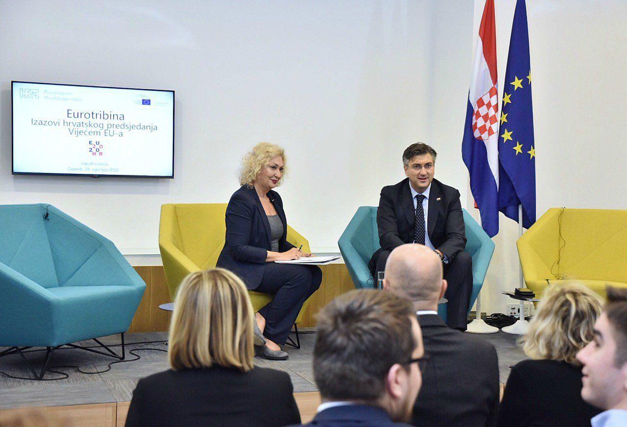 Plenković: intenzivan i uspješan prvi mjesec predsjedanja EU-om