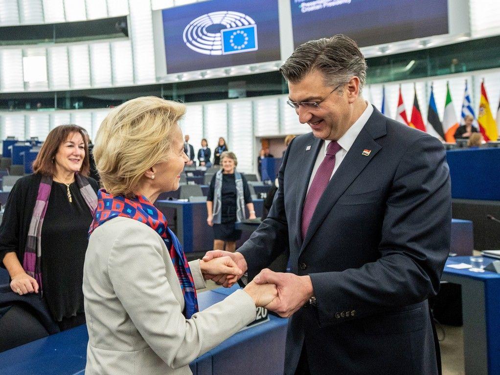 Premijeru Plenkoviću i Hrvatskoj stigle su pohvale šefice Europske komisije Ursule von der Leyen: Andrej, skidam ti kapu, svaka čast!
