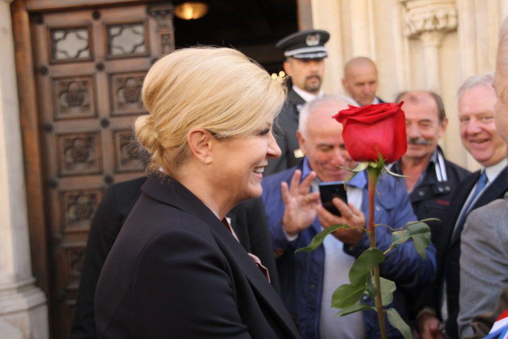 Predsjednica Kolinda Grabar-Kitarović živi domoljublje!
