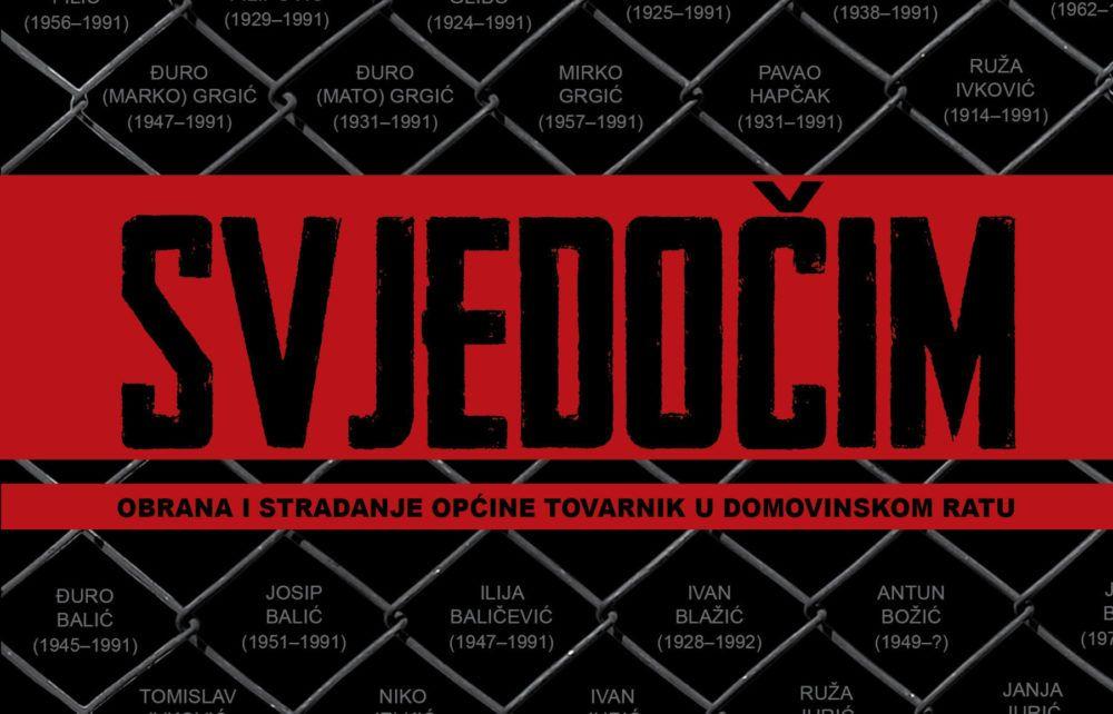 """Knjiga o obrani i stradanju Općine Tovarnik u Domovinskom ratu: """"Jedan od najpotresnijih događaja u novijoj hrvatskoj povijesti"""""""