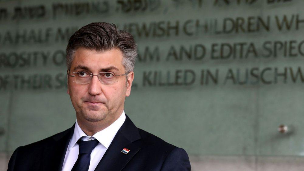 Plenković: Oslobođenjem Auschwitza završio je najmračniji dio povijesti