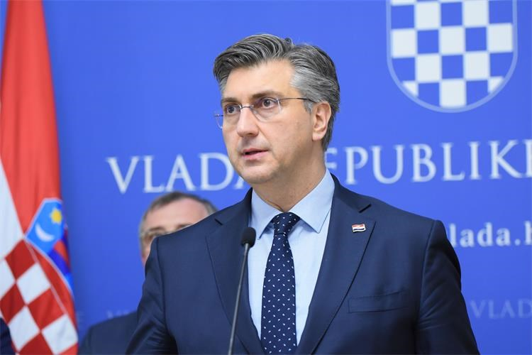 Plenković: Imamo prvog oboljelog od koronavirusa u Hrvatskoj