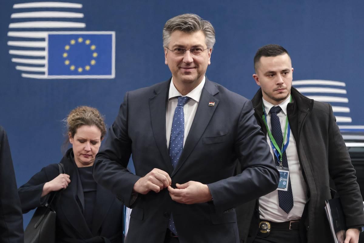 Plenković: nastojimo postići što bolji proračun za Hrvatsku