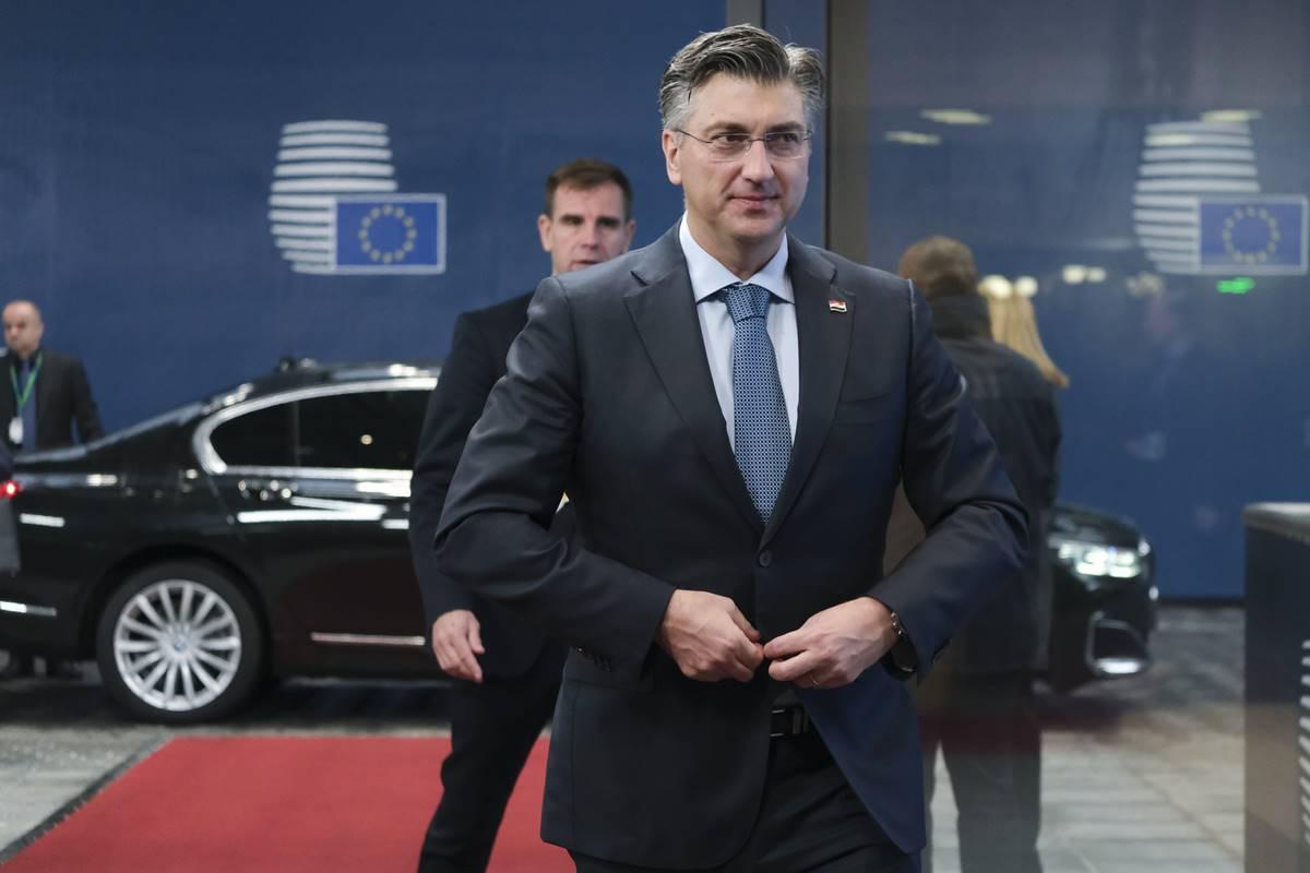HRVATSKI PREMIJER Plenković: Vodimo Europu u trenucima prijelomnim za njezinu budućnost