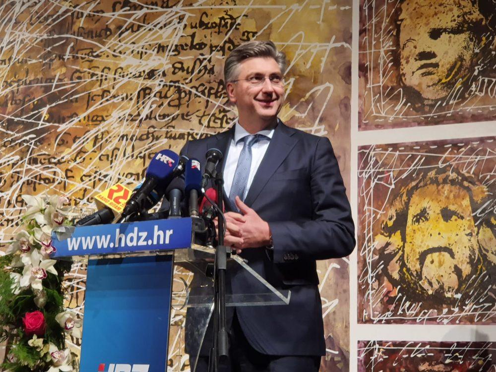 """Plenković:Ukonačnici smo svi dio iste političke obitelji u kojoj ćemo ostati i nakon unutarstranačkih izbora, najvažnija je zadaća HDZ-a da se okrene""""našem čovjeku"""