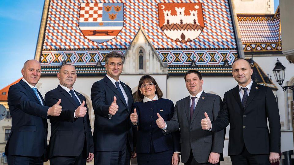 """HRVATSKI PREMIJER I ŠEF HDZ-a Plenković predstavio svoj program """"Odvažno za Hrvatsku"""": """"Suverenizam ćemo učvrstitisnažnim položajem u EU"""""""