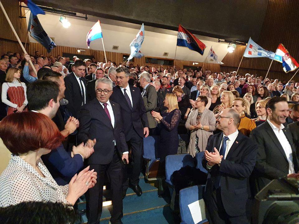 Plenković: Napadi na HDZ dolaze i s lijeva i s desna