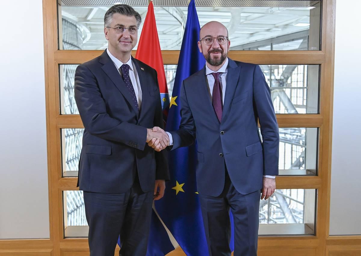 HRVATSKI PREMIJER Plenković: učinit ću sve da RH dobije odgovarajuća kohezijska sredstva