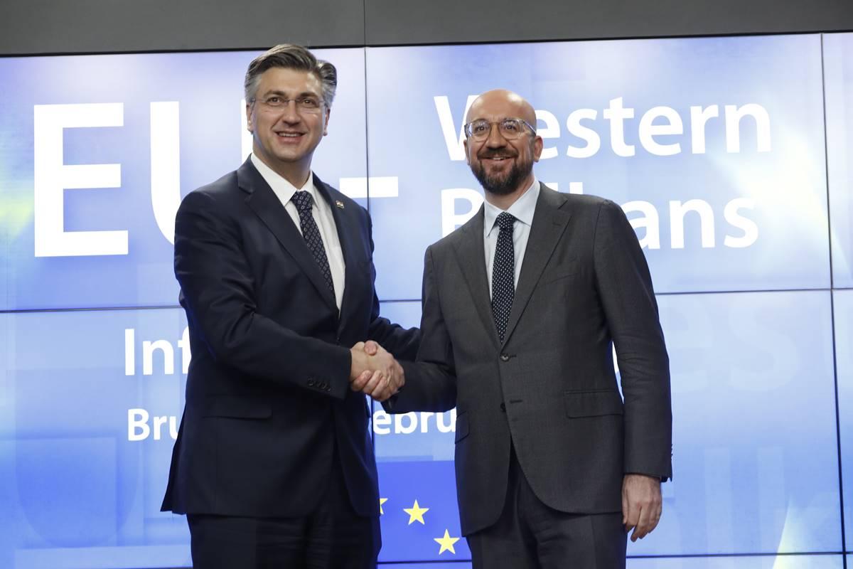 HRVATSKI PREMIJER Plenković: U Michelovu prijedlogu VFO-a ima pozitivnih elemenata za Hrvatsku