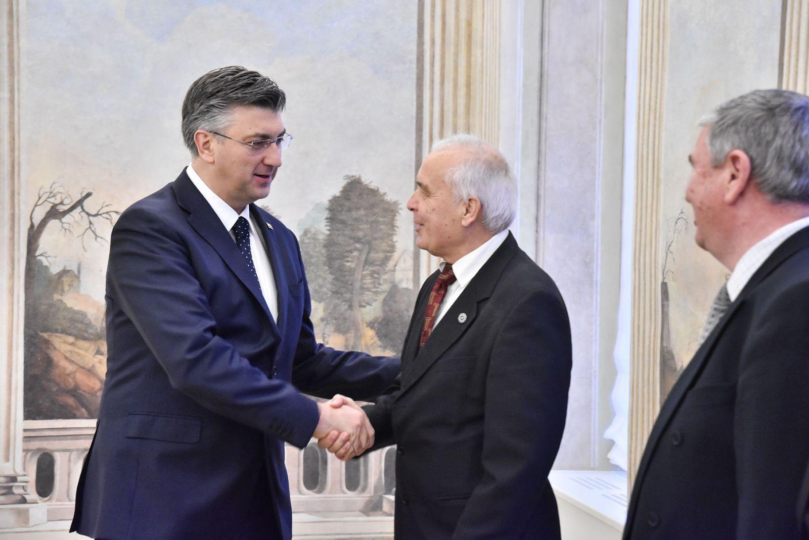 Predsjednik Vlade Plenković primio logoraše srpskih logora, osnovat će povjerenstvo za pravnu pomoć
