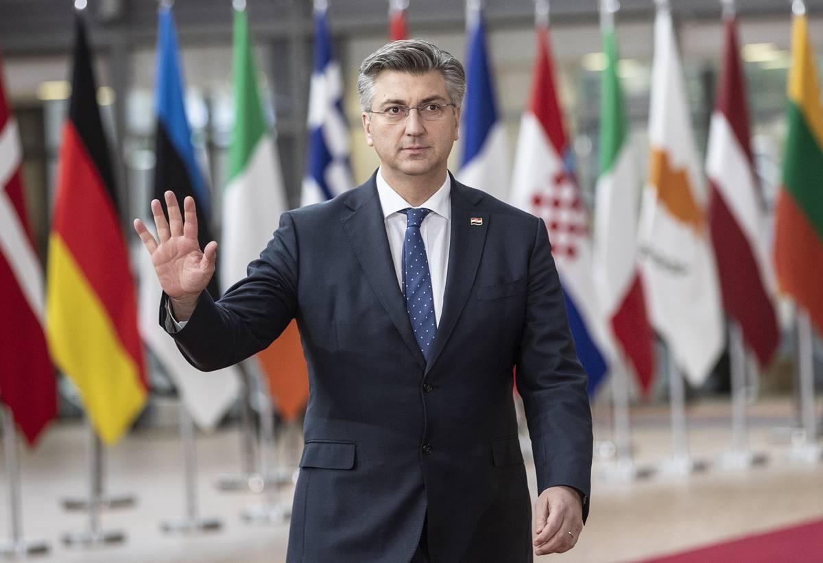 HRVATSKI PREMIJER Plenković: Novi glavni državni odvjetnik najkasnije sredinom travnja