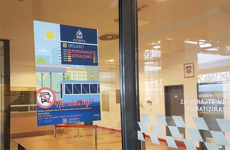 Nastavak kampanje #DontRiskIt: MUP plakatima upozorava na važnost prijave nestanka putnih isprava
