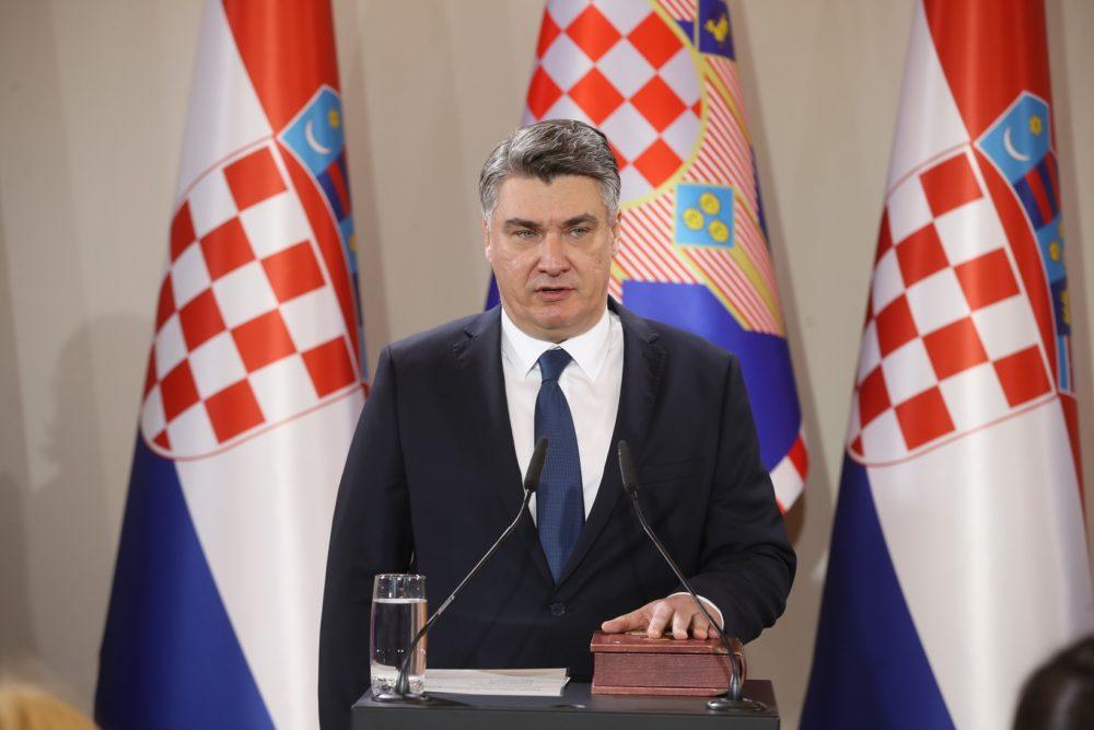 Predsjednik Republike Zoran Milanović: Hvala vam. Živjeli i živjela Republika Hrvatska!