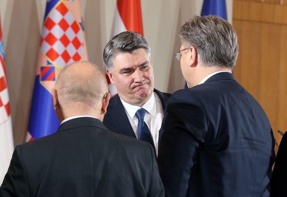 HRVATSKI PREMIJER i predsjednik HDZ-a Plenković nije htio komentirati Milanovićevu inauguraciju