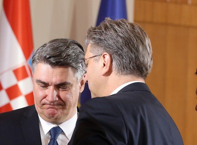 Milanović: Normalno sam razgovarao s Plenkovićem