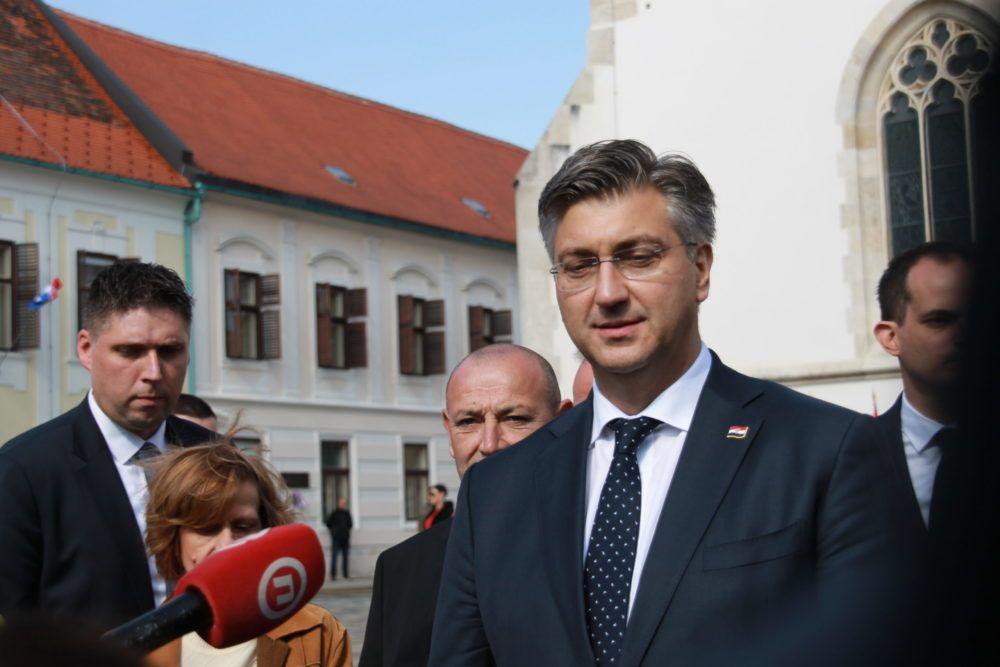 HRVATSKI PREMIJER Plenković: Situacija oko koronavirusa pod kontrolom, građani živite normalno