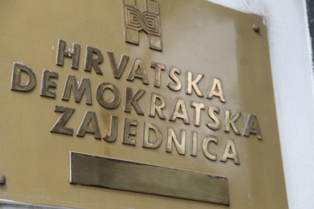 HDZ u četvrtak raspisuje unutarstranačke izbore