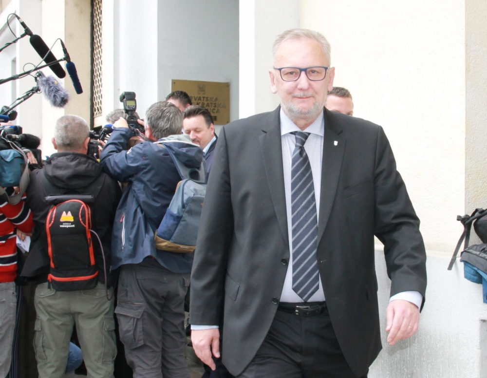 """UNUTARSTRANAČKI IZBORI U HDZ-u Božinović: """"Siguran sam da će Andrej Plenković i ljudi koji su uz njega na ovim izborima, pobijediti"""""""