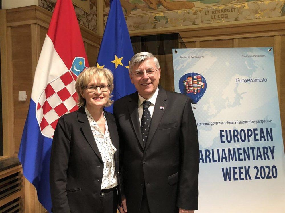 Potpredsjednik Hrvatskog sabora Reiner na Međuparlamentarnoj konferenciji u Bruxellesu