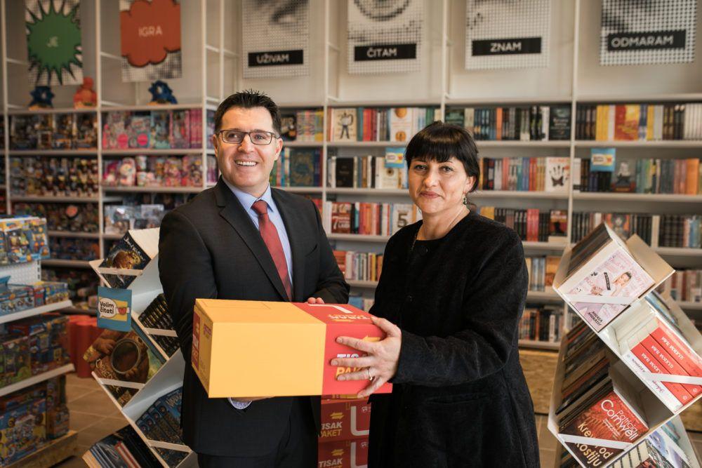 Tisak plus prodavaonica otvorena u Ludbregu: Uz predstavljanje novog koncepta, Tisak je darivao Gradski dječji vrtić Radost