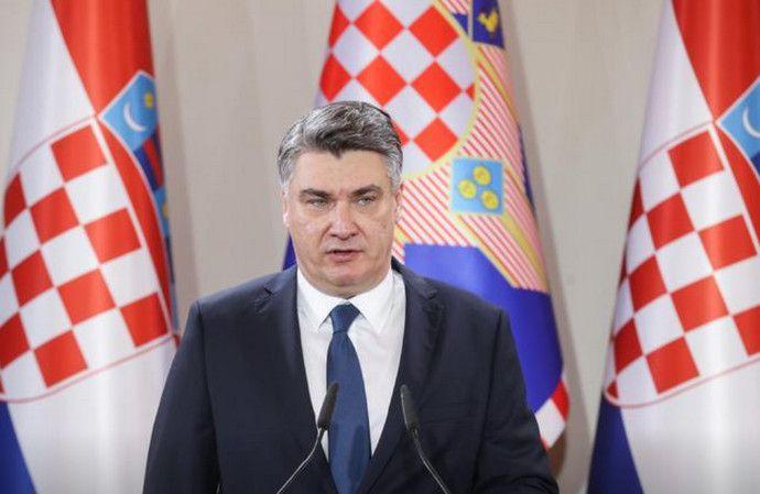 Predsjednik Republike Hrvatske Milanović o koronavirusu : Svojim bih intervencijama unio pomutnju, Vlada do sada nije napravila ni jednu grešku