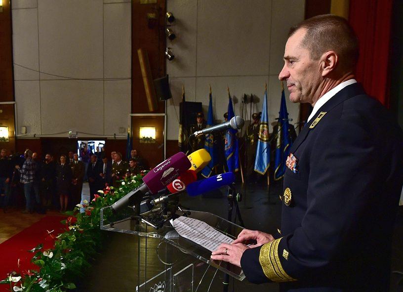 NačelnikGlavnog stožera Oružanih snaga RH viceadmiral Hranj: Vojska je spremna pomoći policiji