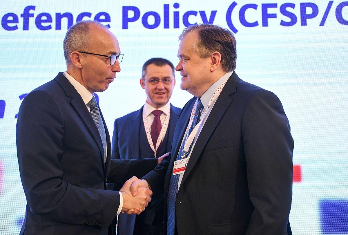Ministar obrane RH Krstičević: ulaganje u europsku obrambenu industriju je ulaganje u sigurnost građana