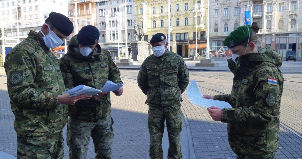 (VIDEO) Od ranih jutarnjih sati 150 vojnika nastavlja pomagati Zagrebu