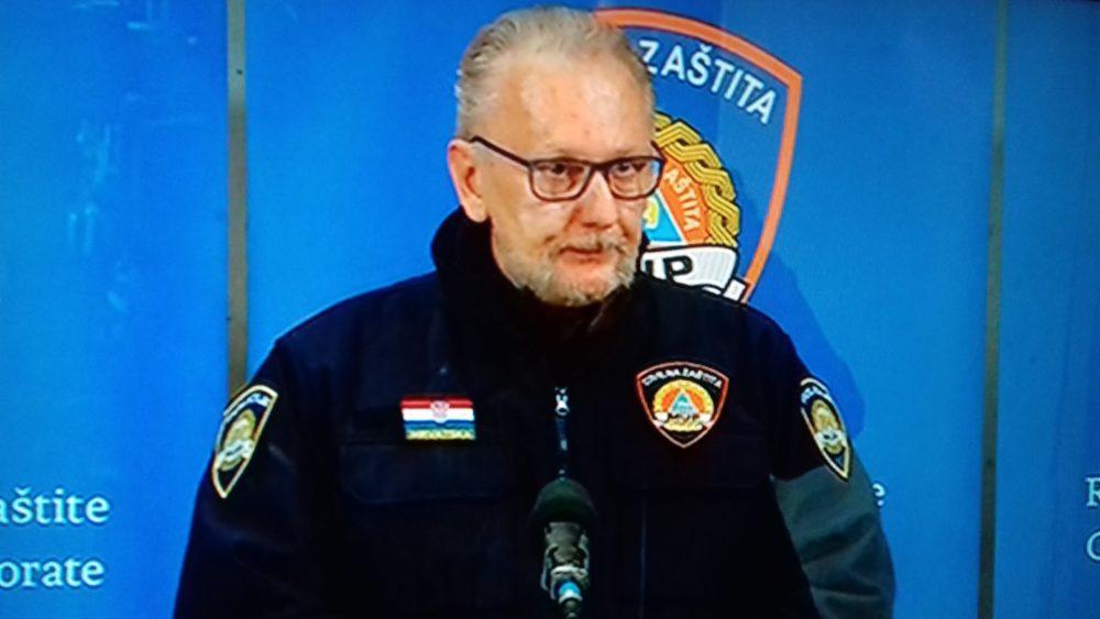 Voditelj Nacionalnog stožera civilne zaštite Božinović: Nikome ne pada na pamet ograničavati ljudska prava, sve više svjesnih da je ovo izvanredna i ekstremna situacija