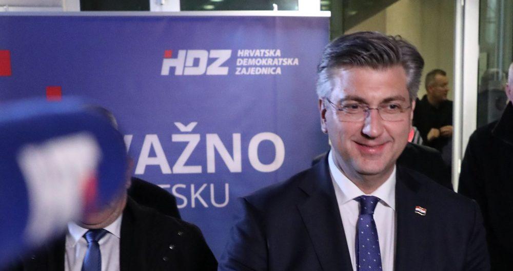 """Plenković: """"Članovi HDZ-a poslali jasnu poruku kakav HDZ žele i koje ljude žele na čelu stranke"""""""