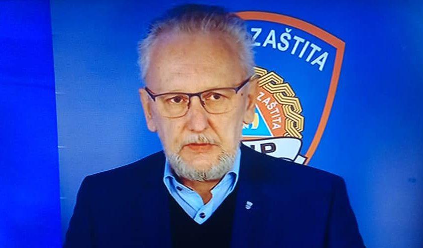 """Božinović: """"Situacija oko Hrvatske glede koronavirusa nije dobra. U ovom trenutku još uvijek stvari držimo u dobroj mjeri"""""""