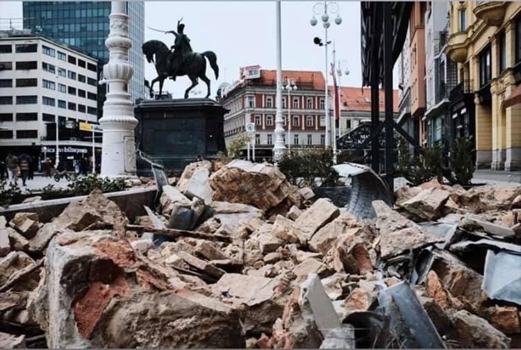 Dva snažna potresa u nedjelju ujutro u Zagrebu: prvi jakosti 5,3 drugi jakosti 5,0