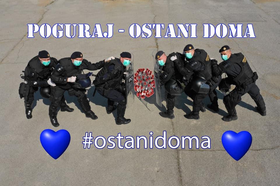 HRVATSKA POLICIJA u doba vremena našeg iskušenja pokazala nesebičnost, ljudskost i hrabrost. Svaka čast!