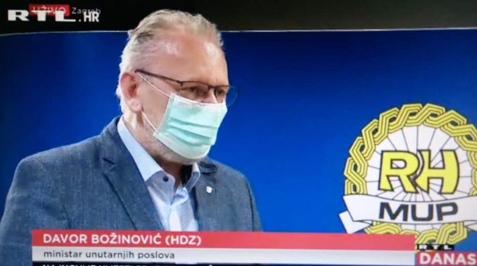 """Božinović: Zatvaranje tržnica i zabrana napuštanja mjesta prebivališta, sprečavanje širenja virusa i dalje """"zadaća broj jedan"""""""